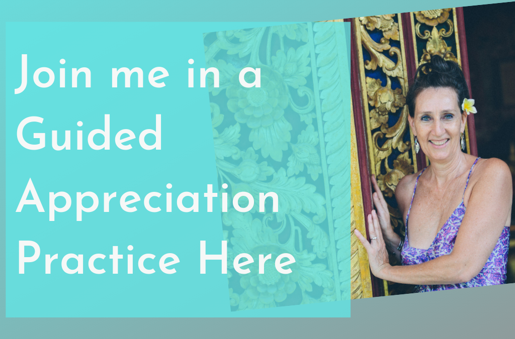 Join me in a Guided Appreciation Practice Here