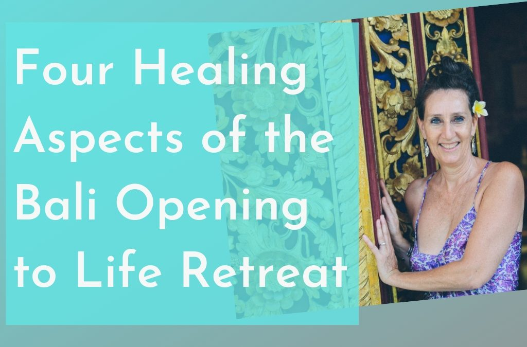 Four healing aspects of the Bali Opening to Life Retreat